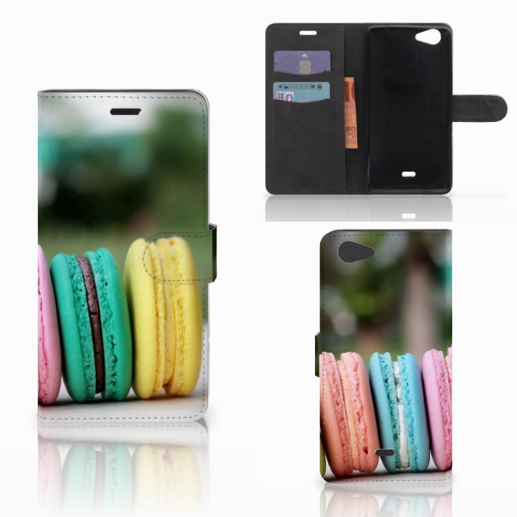 Wiko Pulp Fab 4G Book Cover Macarons