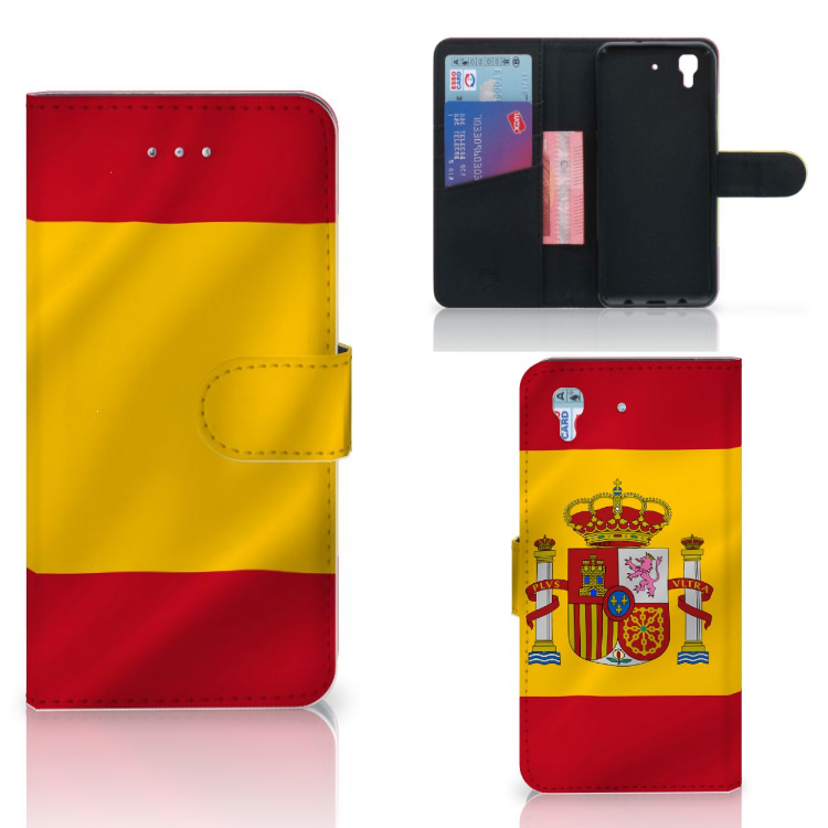 Honor 4A | Y6 Bookstyle Case Spanje