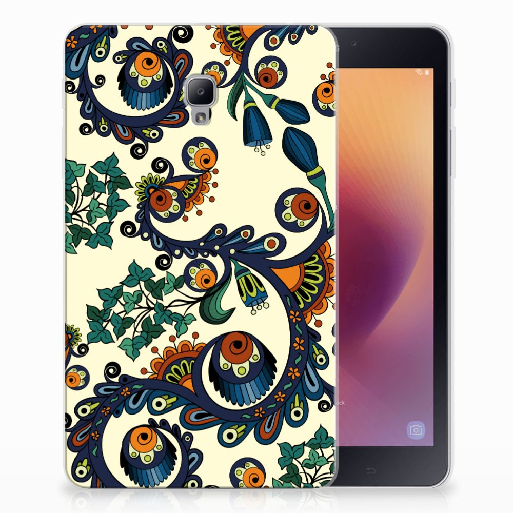 TPU Case Samsung Galaxy Tab A 8.0 (2017) Barok Flower