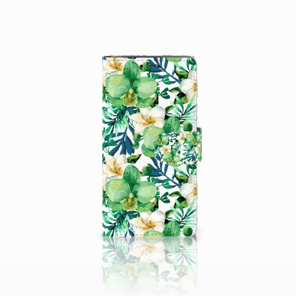 LG Bello 2 Uniek Boekhoesje Orchidee Groen
