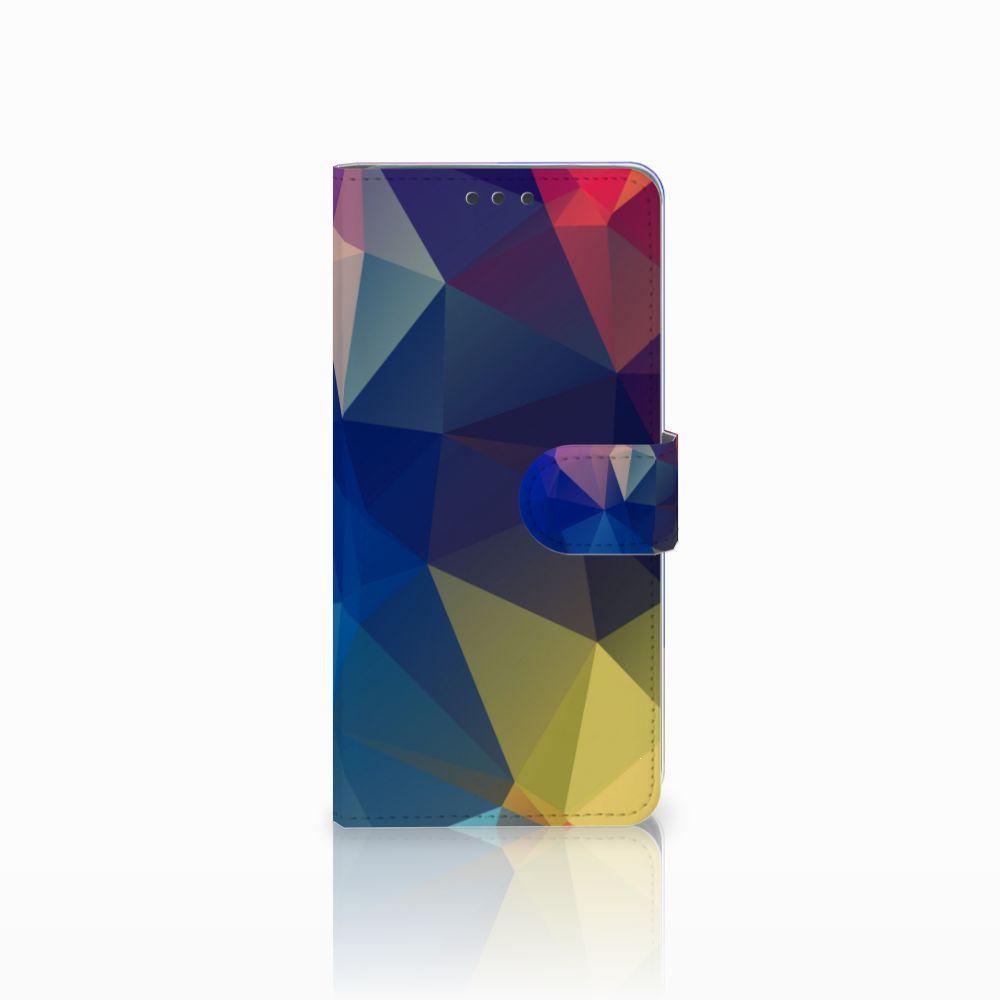 Huawei Mate 20 Bookcase Polygon Dark