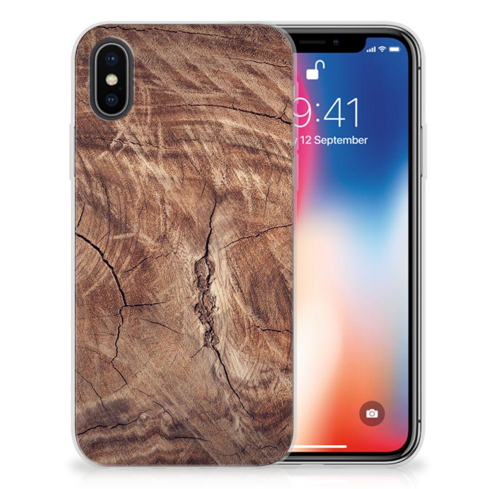 Apple iPhone X | Xs Bumper Hoesje Tree Trunk