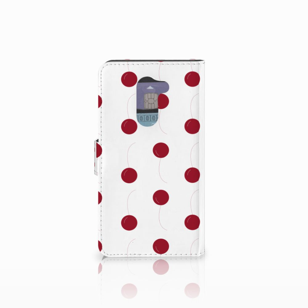 Huawei Honor 6X Book Cover Cherries