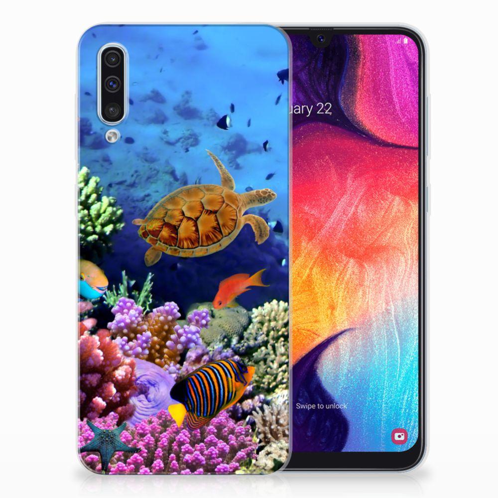 Samsung Galaxy A50 TPU Hoesje Vissen