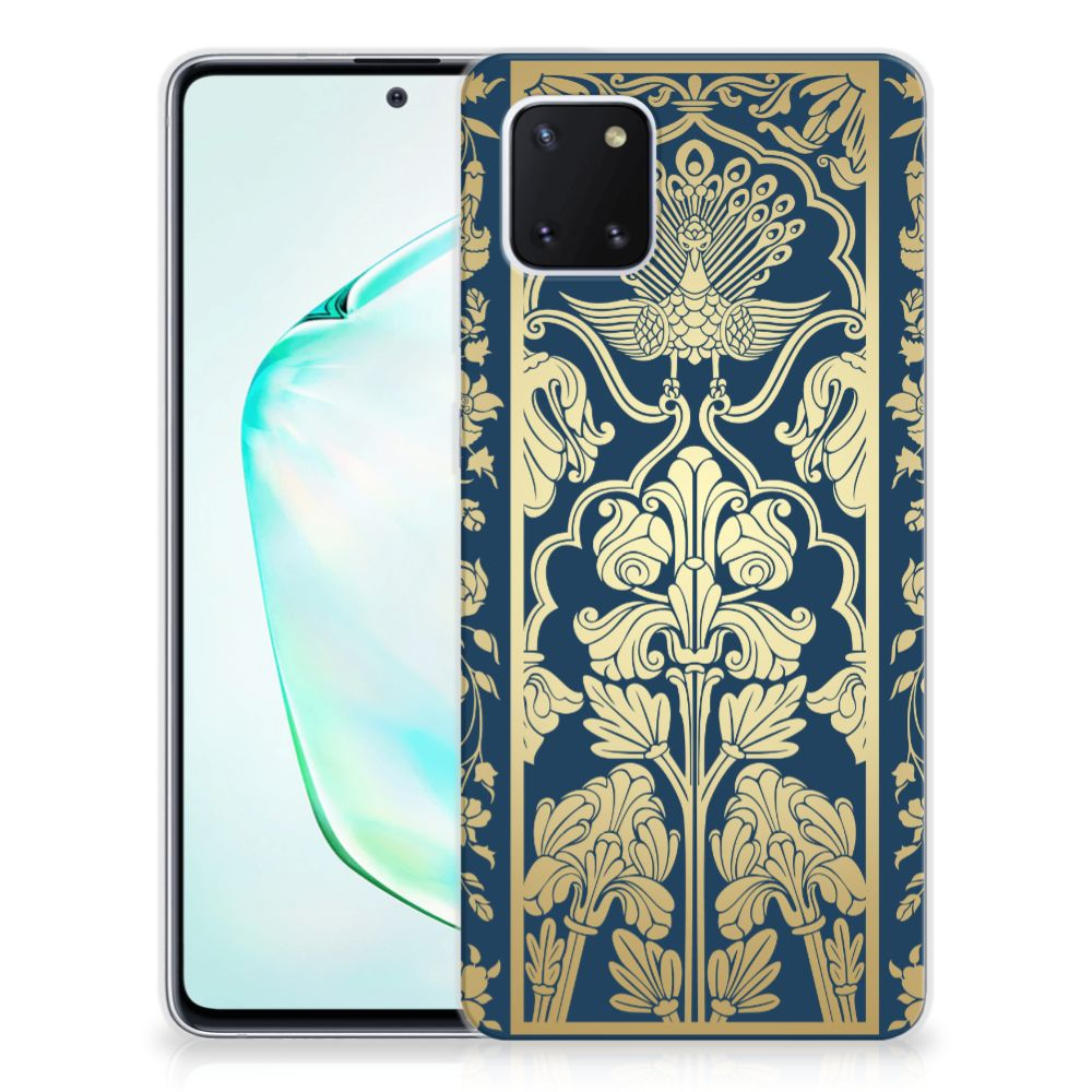 Samsung Galaxy Note 10 Lite TPU Case Golden Flowers