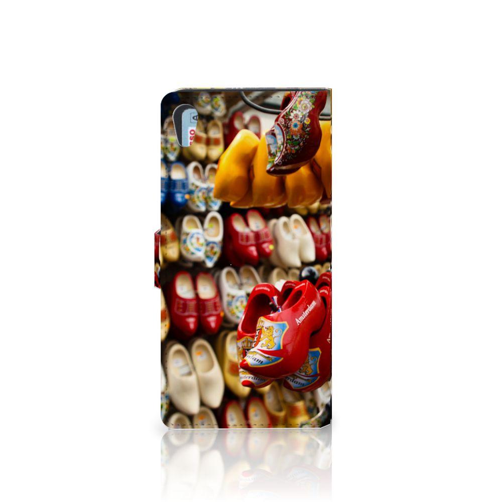 Sony Xperia XA1 Ultra Flip Cover Klompen