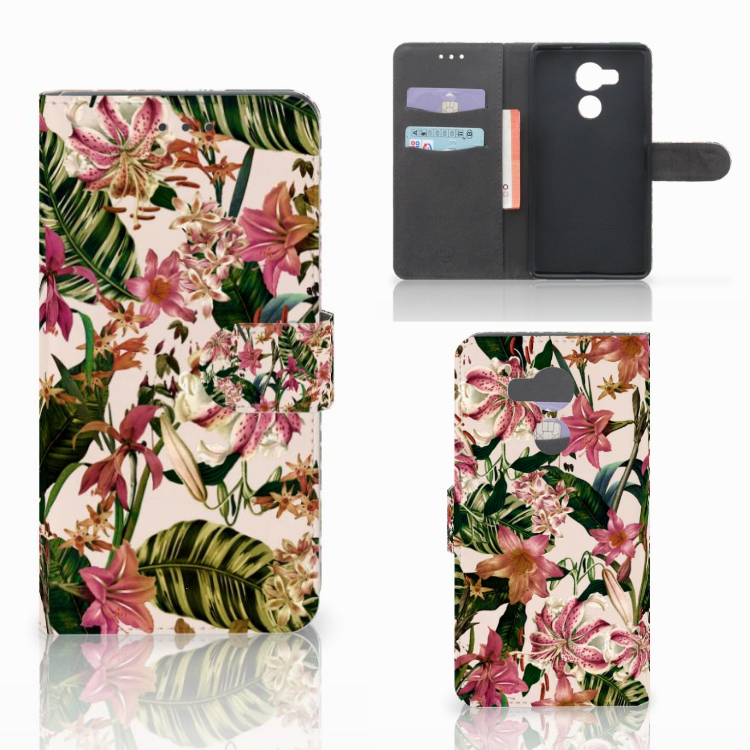 Huawei Mate 8 Hoesje Flowers
