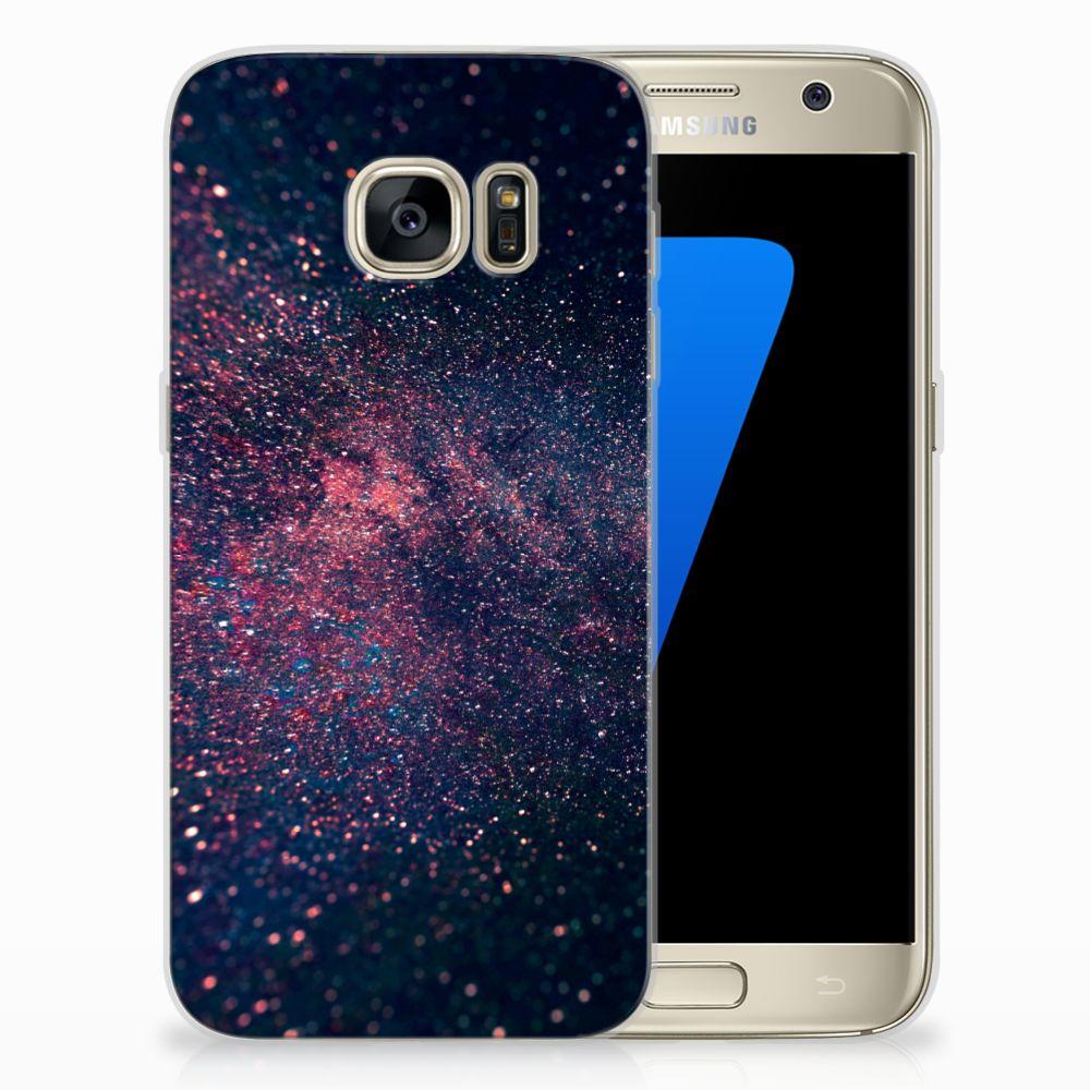 Samsung Galaxy S7 TPU Hoesje Stars