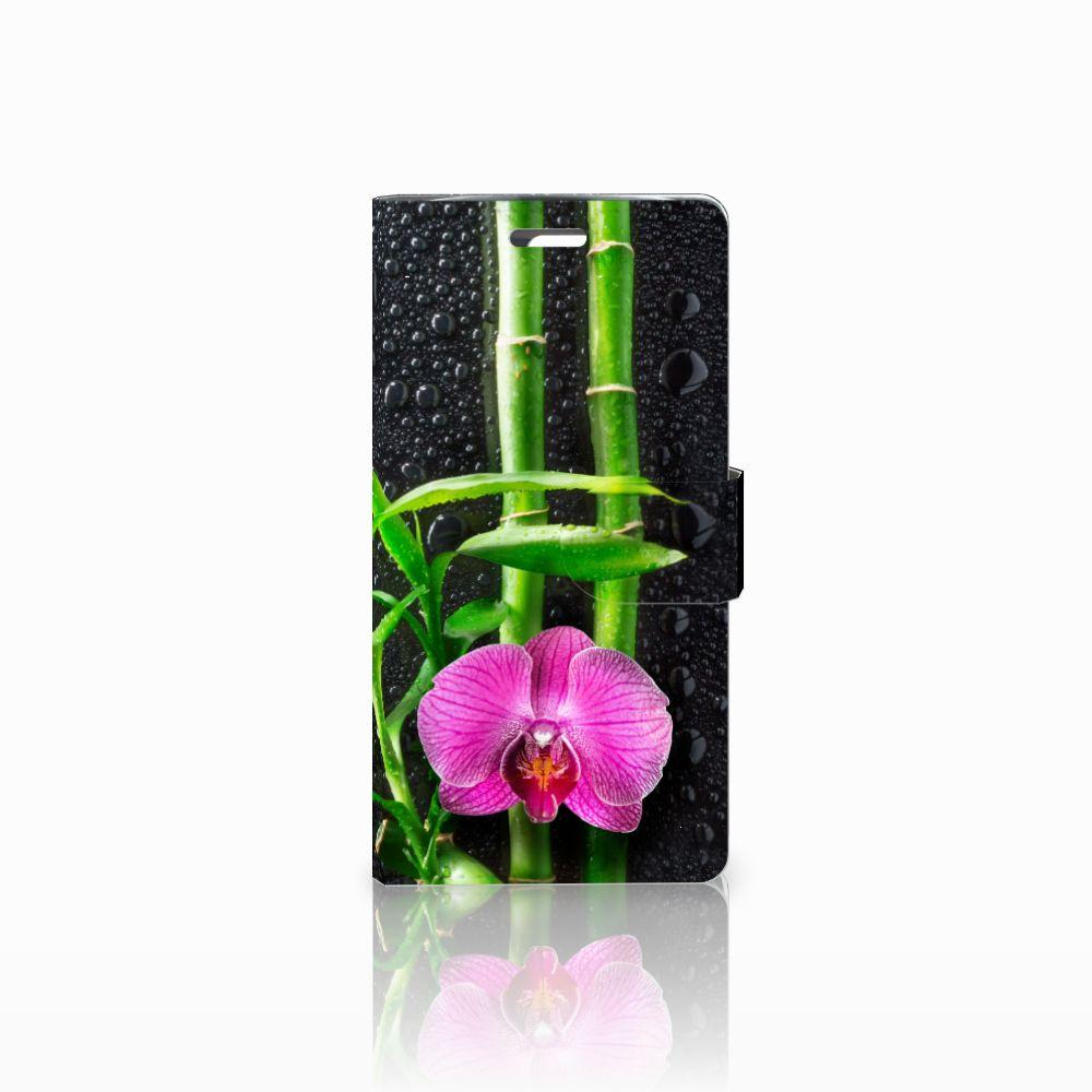 LG K10 2015 Boekhoesje Design Orchidee
