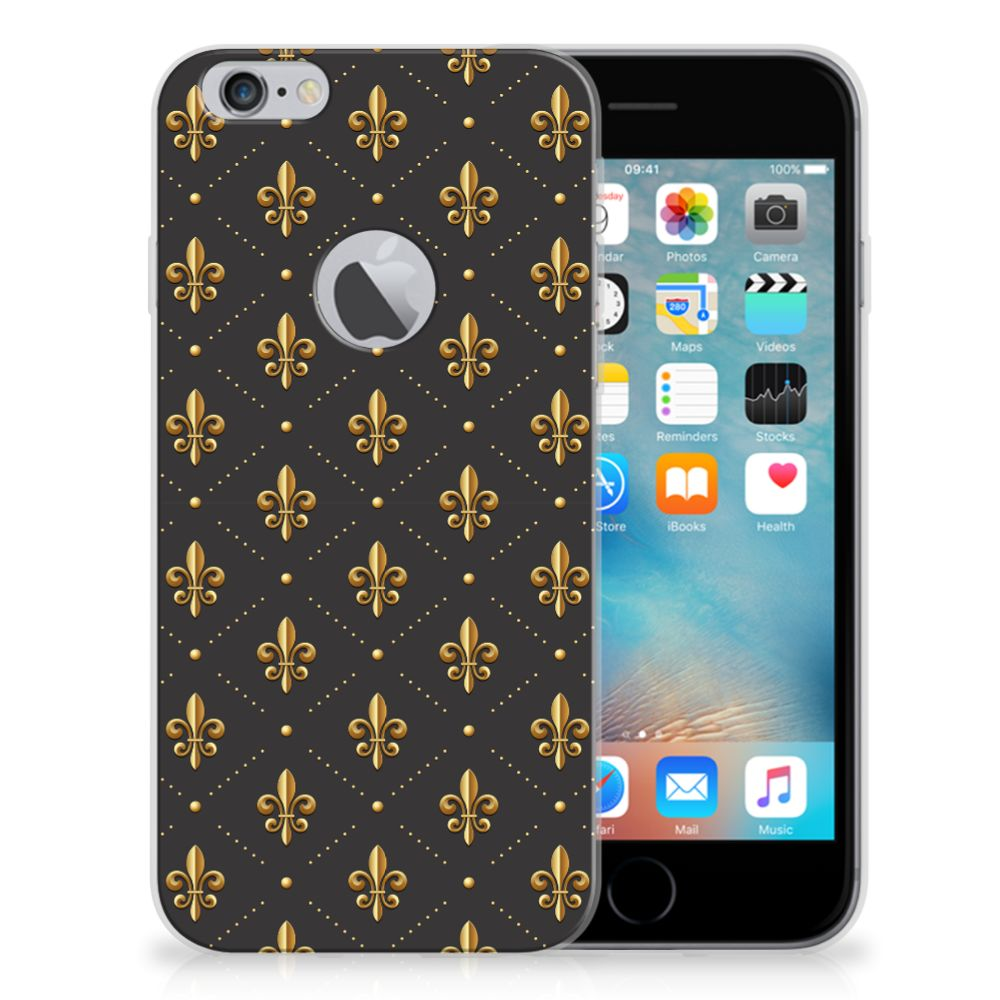 Apple iPhone 6 Plus | 6s Plus TPU bumper Franse Lelie