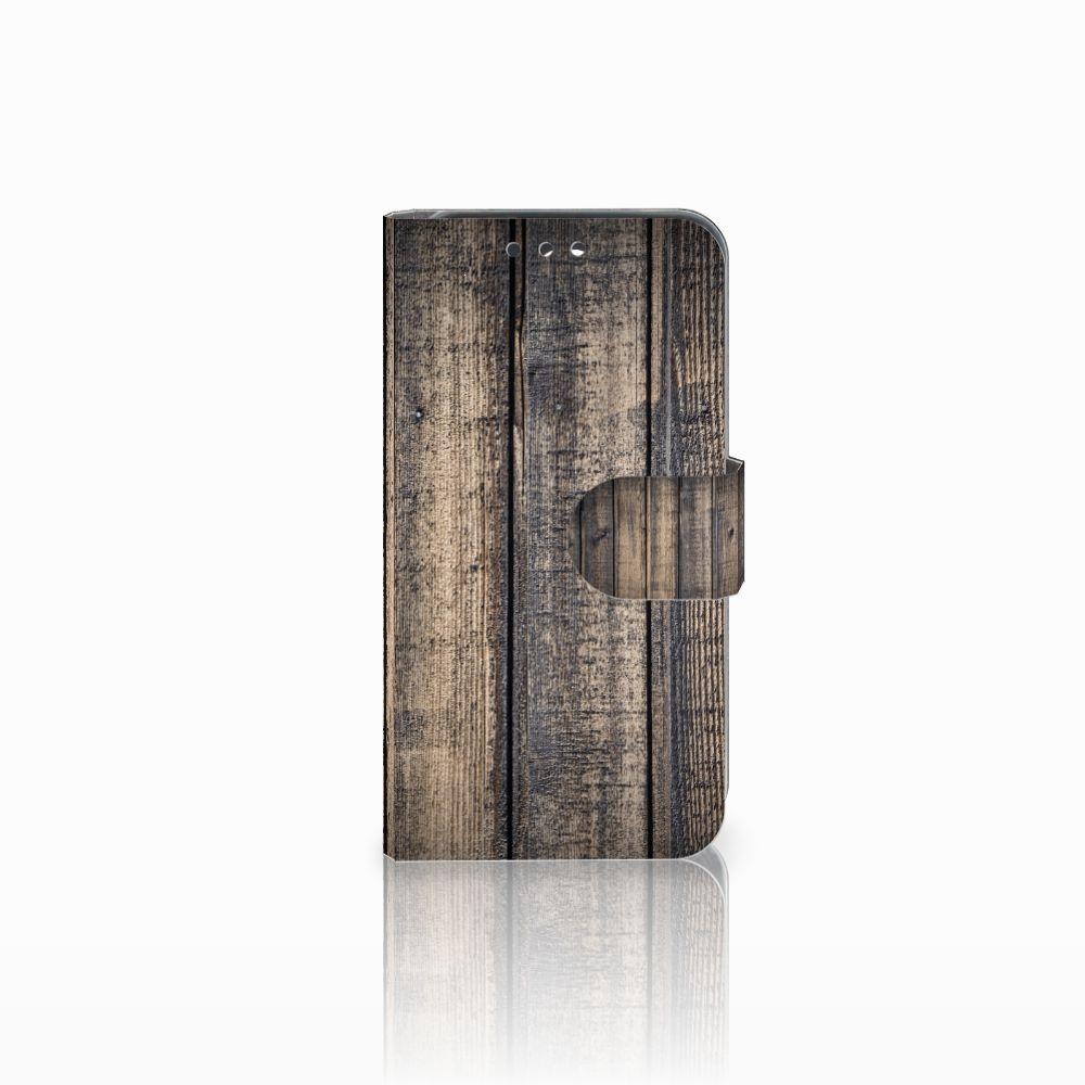 Huawei Y5 Y560 Boekhoesje Design Steigerhout