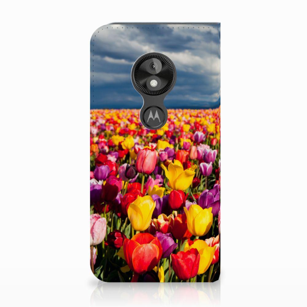 Motorola Moto E5 Play Uniek Standcase Hoesje Tulpen
