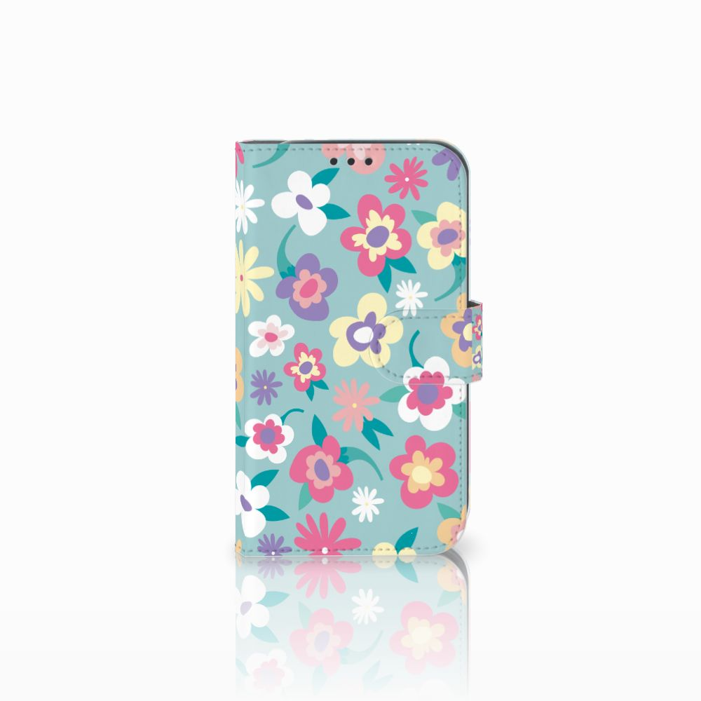 Samsung Galaxy Xcover 4 Boekhoesje Design Flower Power