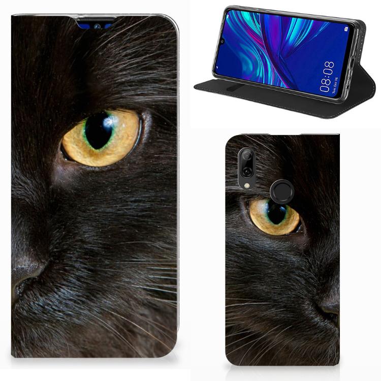 Huawei P Smart (2019) Hoesje maken Zwarte Kat