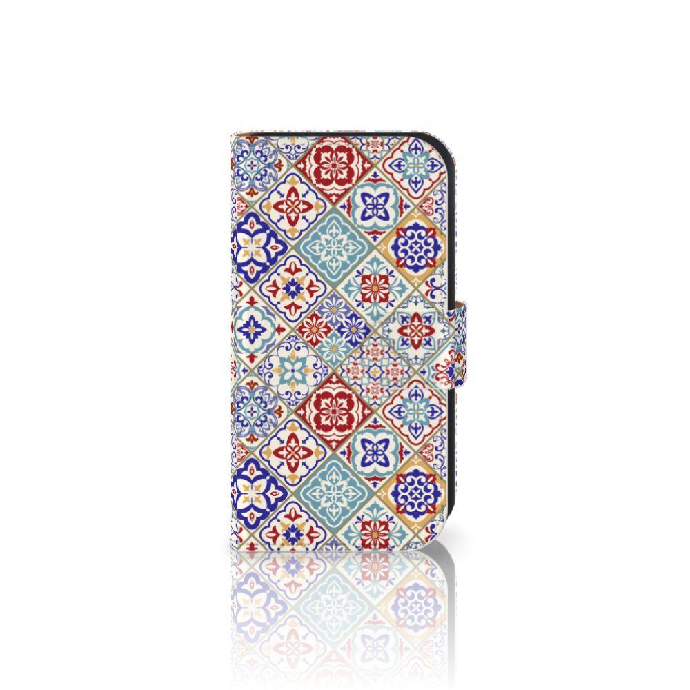 Samsung Galaxy Ace 4 4G (G357-FZ) Uniek Boekhoesje Tiles Color