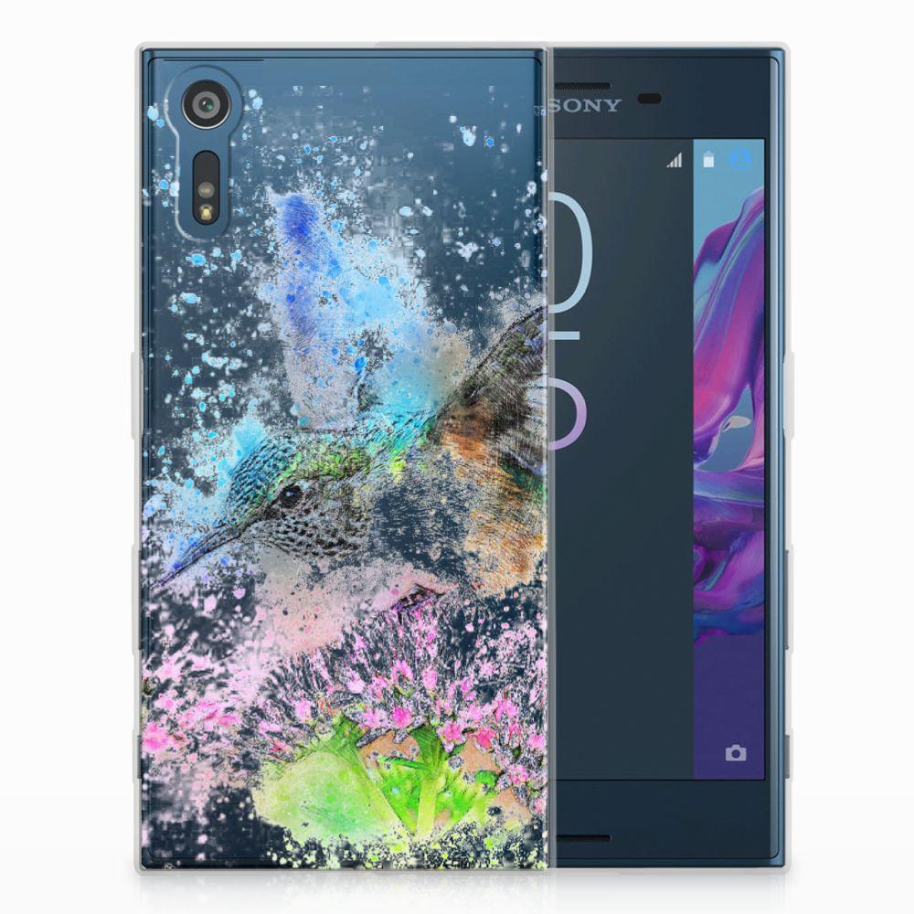 Sony Xperia XZs | XZ TPU Hoesje Design Vogel
