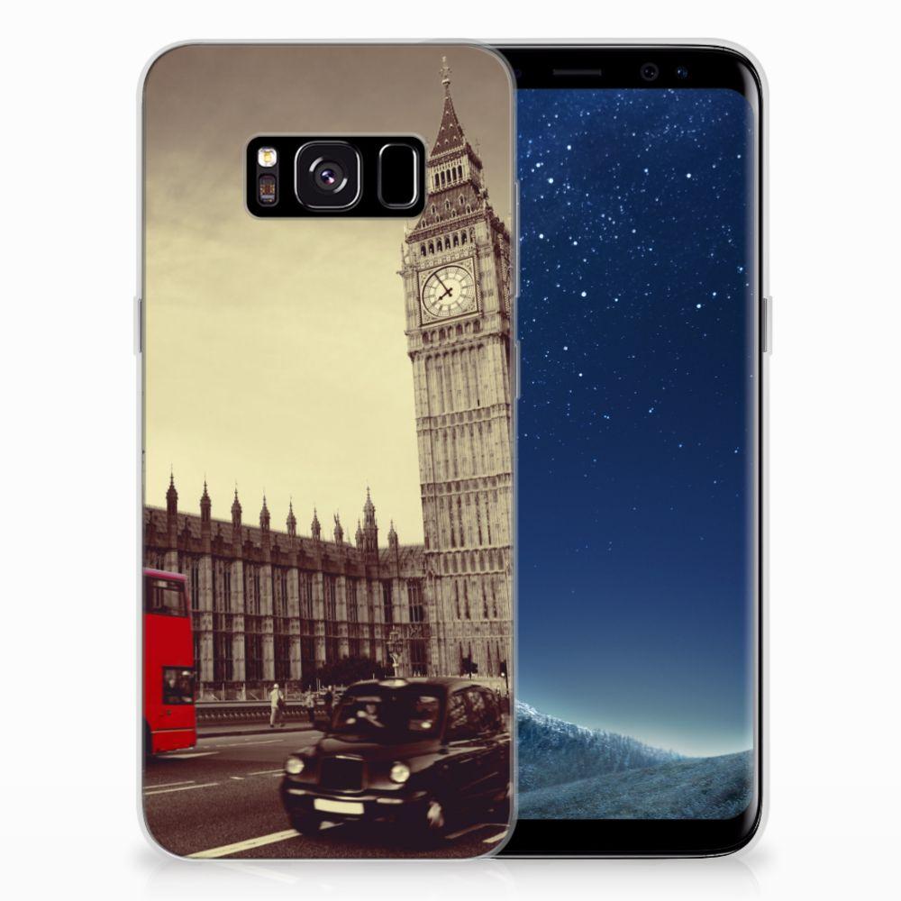 Samsung Galaxy S8 Siliconen Back Cover Londen