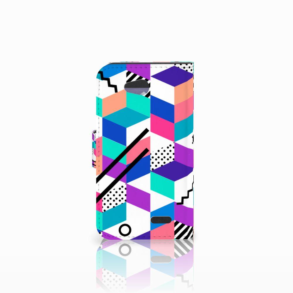 LG L90 Bookcase Blokken Kleurrijk