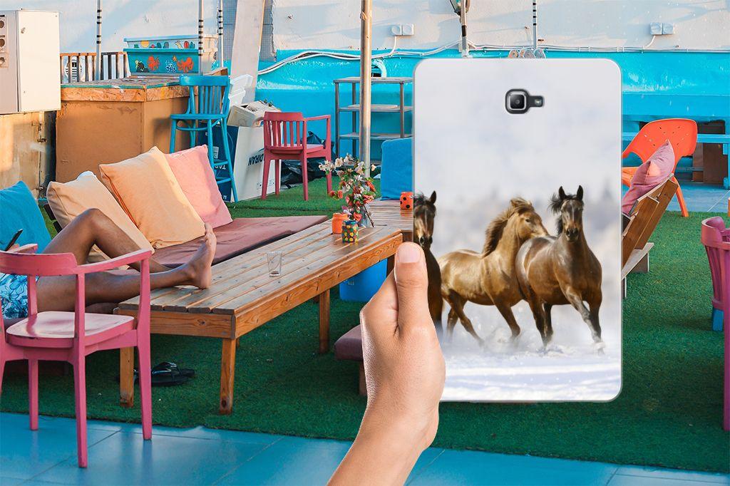Samsung Galaxy Tab A 10.1 Back Case Paarden