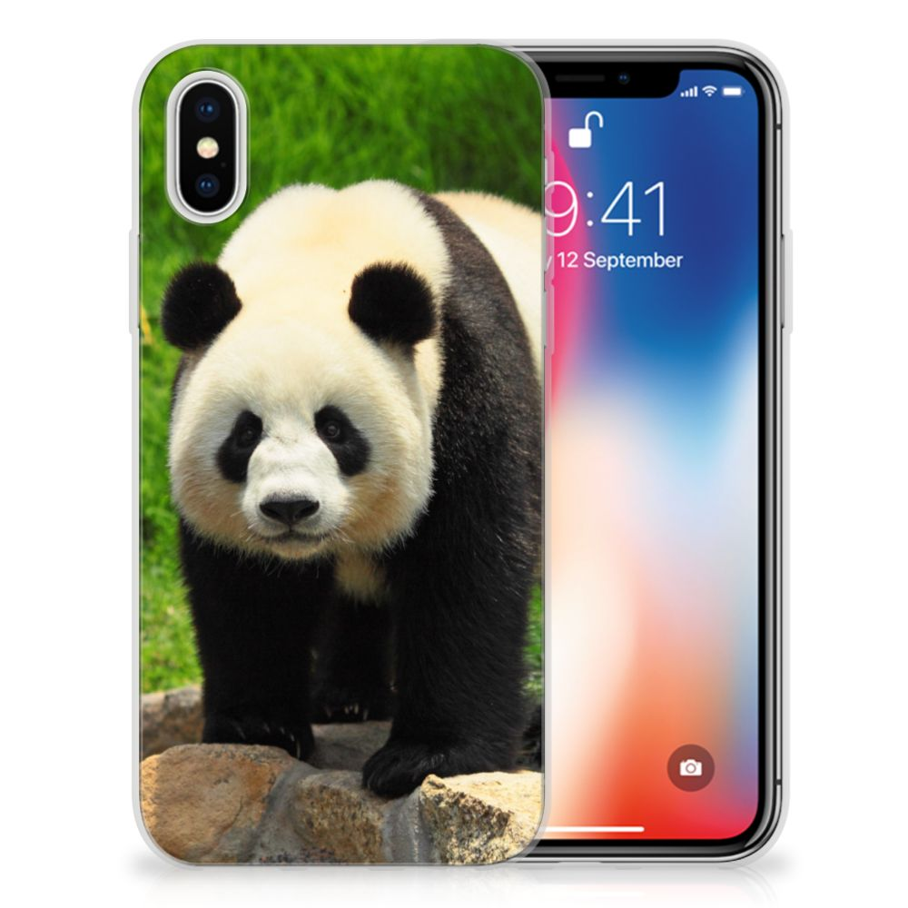 Apple iPhone X | Xs TPU Hoesje Design Panda