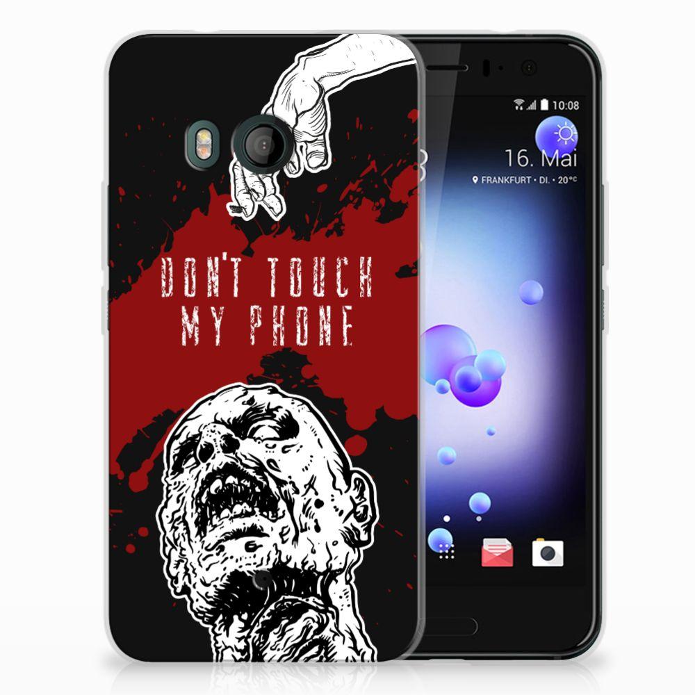 HTC U11 TPU Hoesje Design Zombie Blood