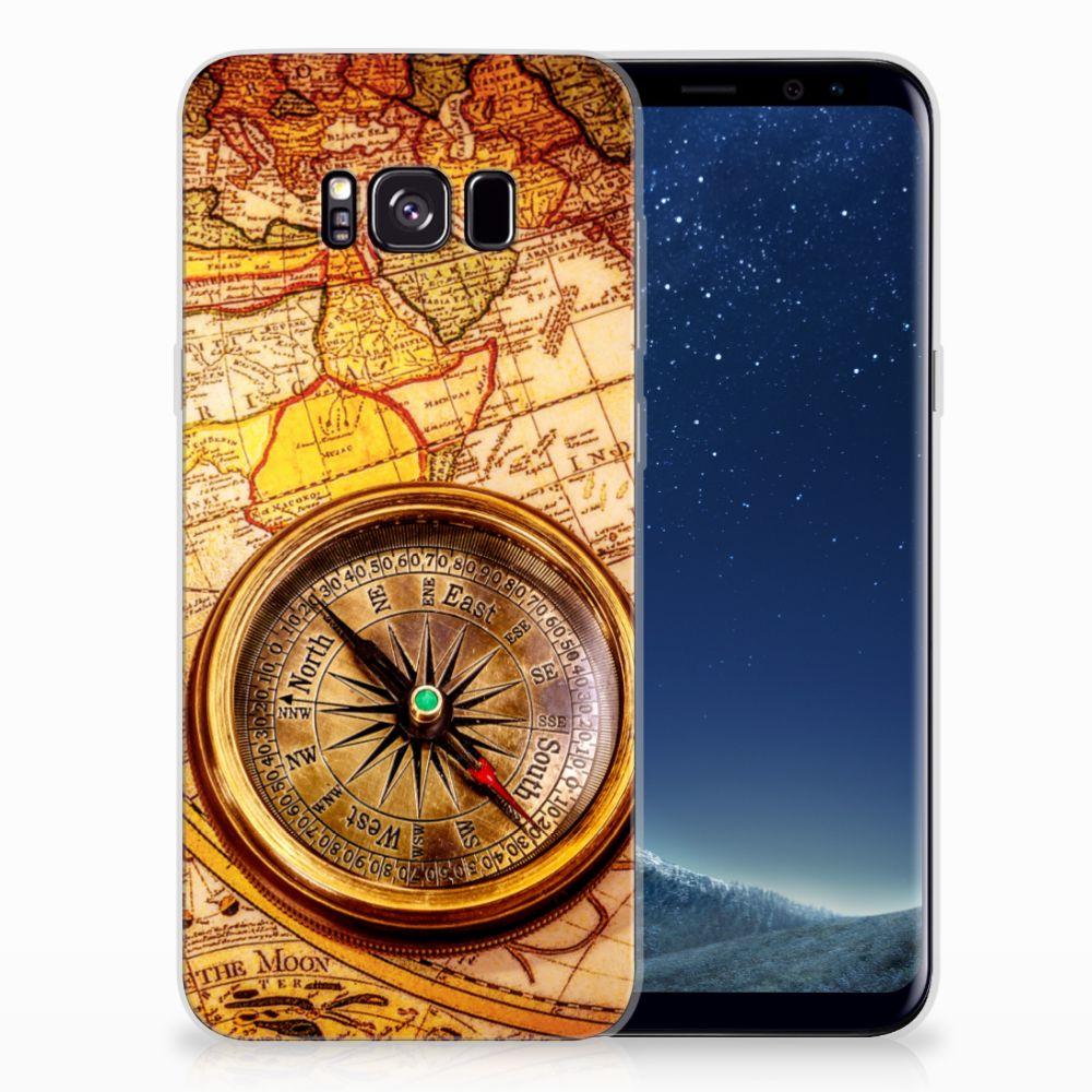 Samsung Galaxy S8 Plus Siliconen Back Cover Kompas
