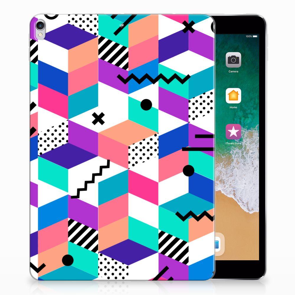 Apple iPad Pro 10.5 Back Cover Blokken Kleurrijk