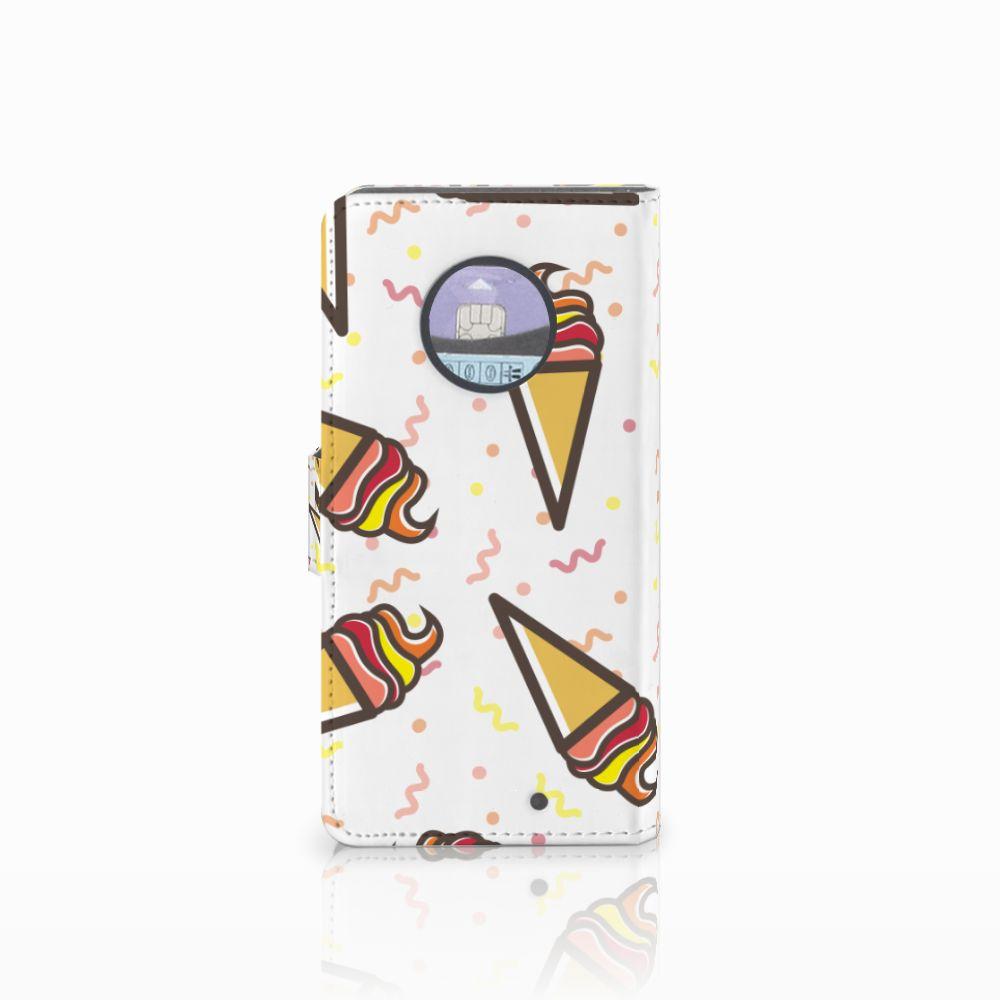 Motorola Moto X4 Book Cover Icecream