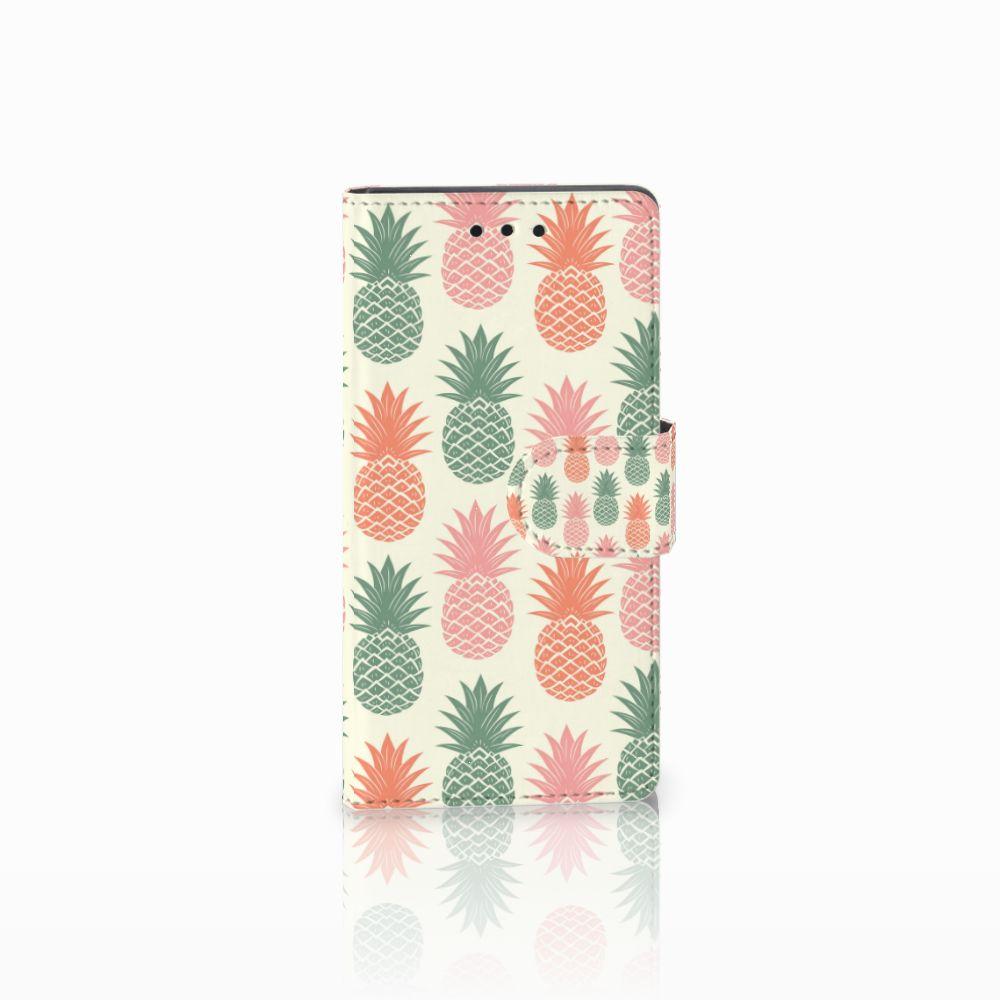 Sony Xperia Z5 Compact Boekhoesje Design Ananas