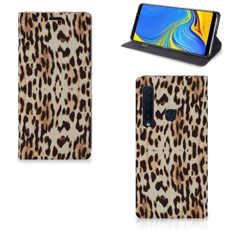 Samsung Galaxy A9 (2018) Hoesje maken Leopard