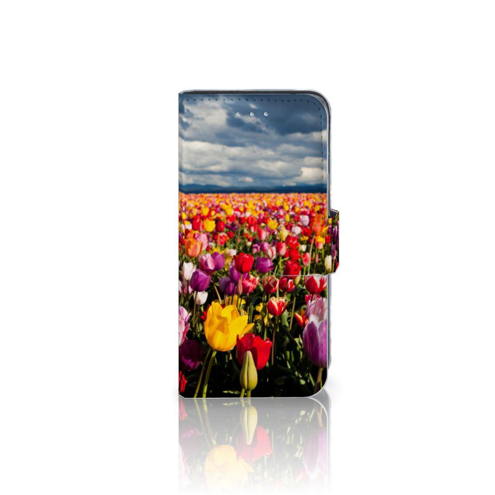 Samsung Galaxy A5 2016 Uniek Boekhoesje Tulpen