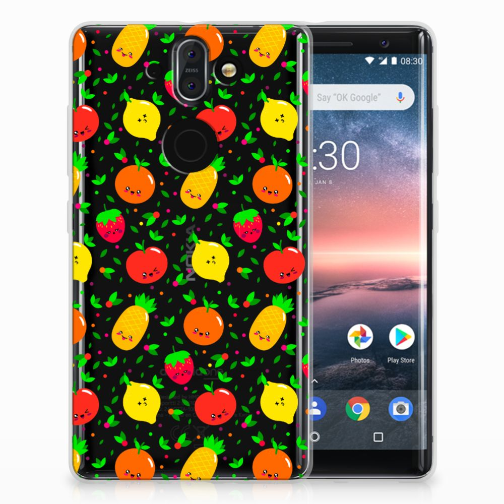 Nokia 9 | 8 Sirocco Siliconen Case Fruits