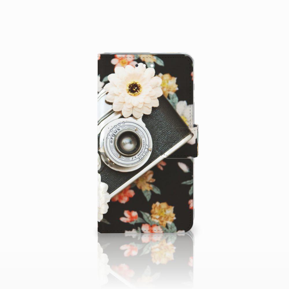 Huawei Ascend G7 Uniek Boekhoesje Vintage Camera