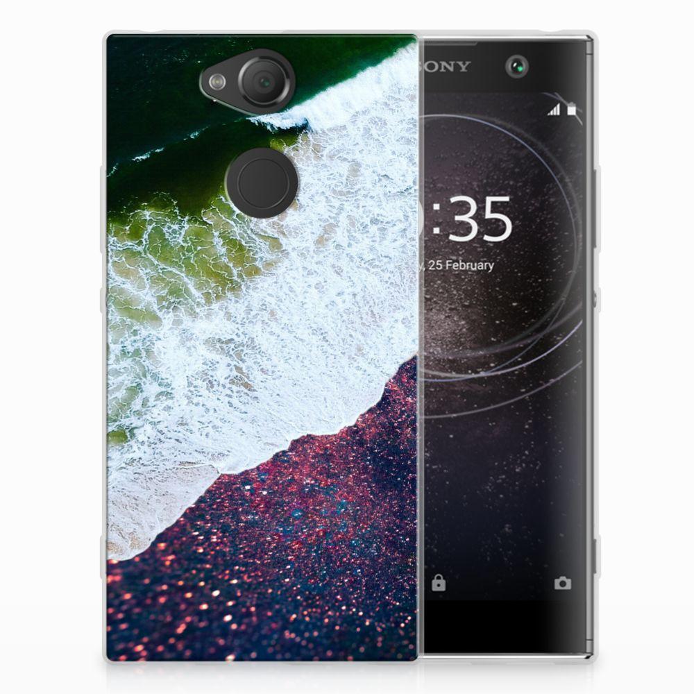 Sony Xperia XA2 TPU Hoesje Sea in Space