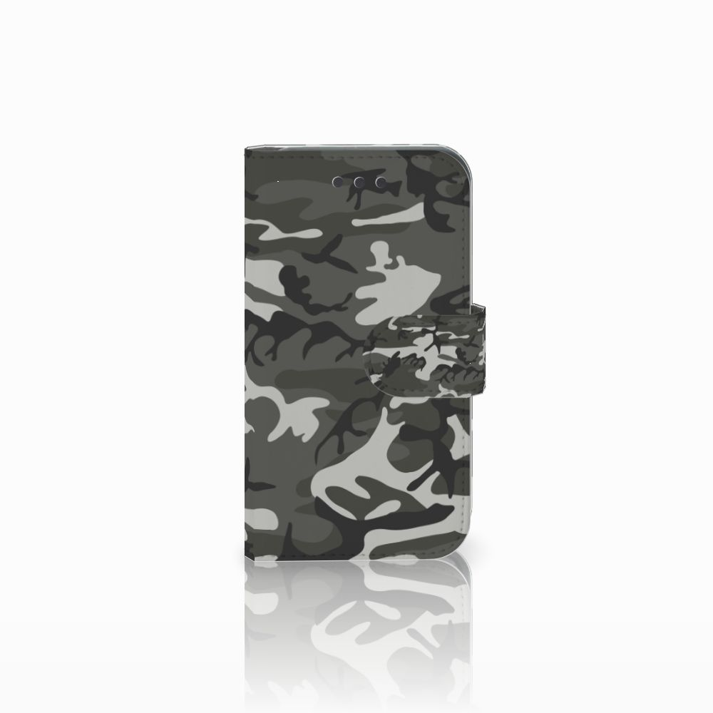 Samsung Galaxy Core 2 Uniek Boekhoesje Army Light