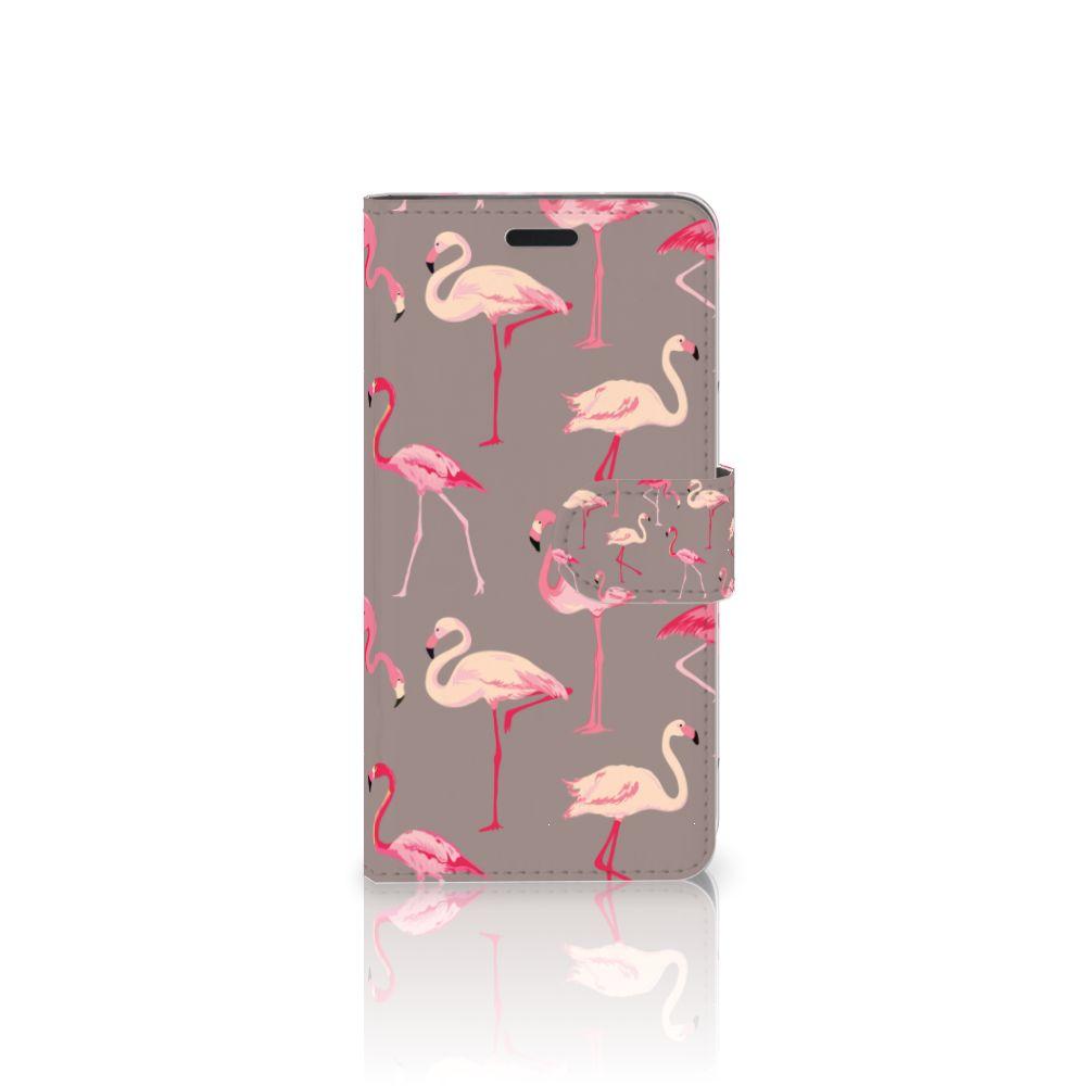 HTC 10 Uniek Boekhoesje Flamingo