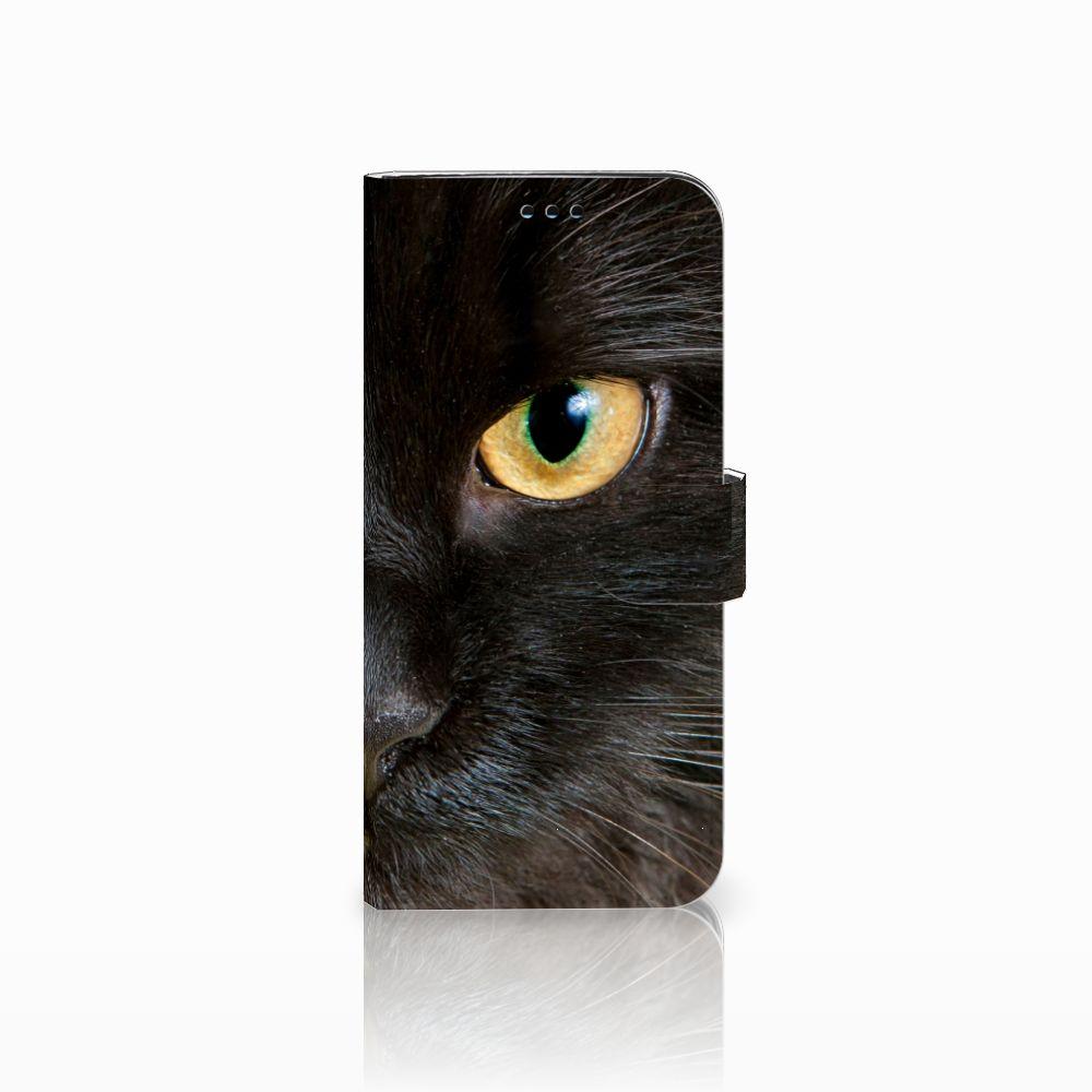 Samsung Galaxy S9 Plus Uniek Boekhoesje Zwarte Kat
