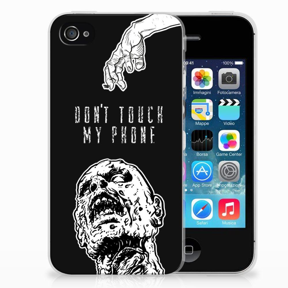 Apple iPhone 4 | 4s Uniek TPU Hoesje Zombie