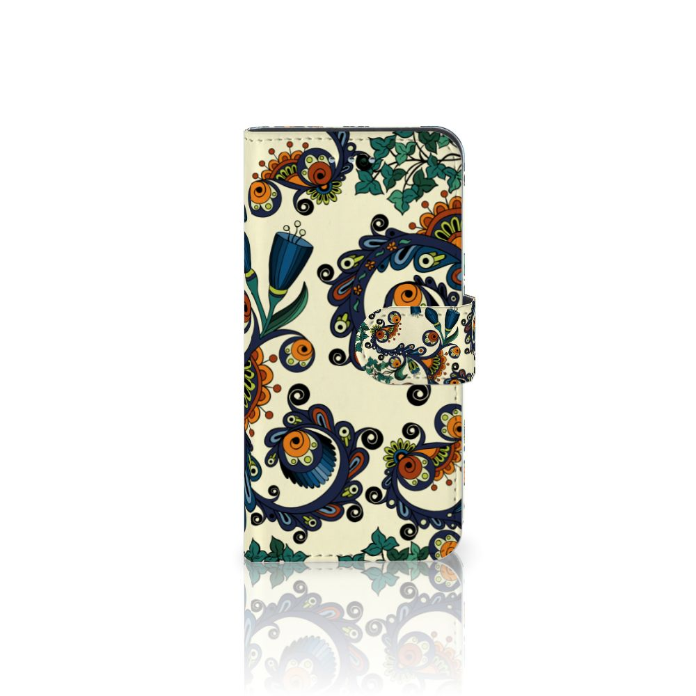 Samsung Galaxy S6 | S6 Duos Boekhoesje Design Barok Flower