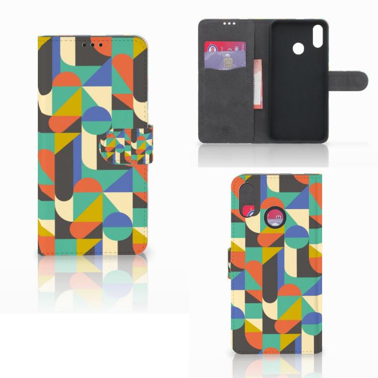 Huawei P Smart Plus Telefoon Hoesje Funky Retro