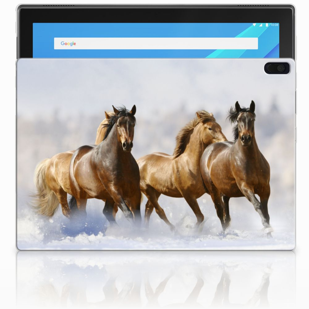 Lenovo Tab 4 10.1 Back Case Paarden