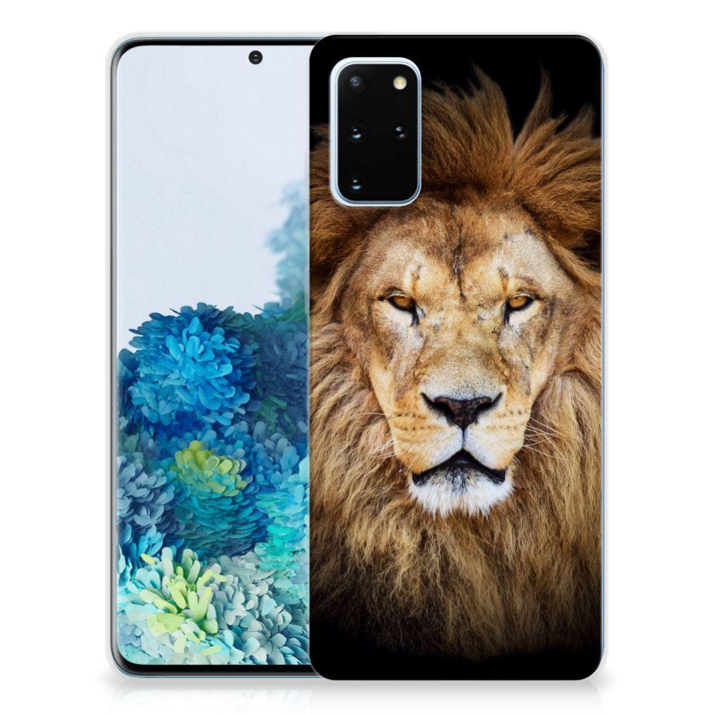 Samsung Galaxy S20 Plus TPU Hoesje Leeuw