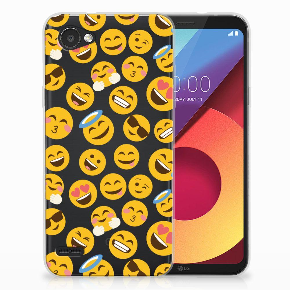 LG Q6 | LG Q6 Plus TPU bumper Emoji