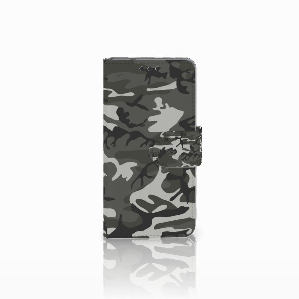 Sony Xperia Z3 Compact Uniek Boekhoesje Army Light
