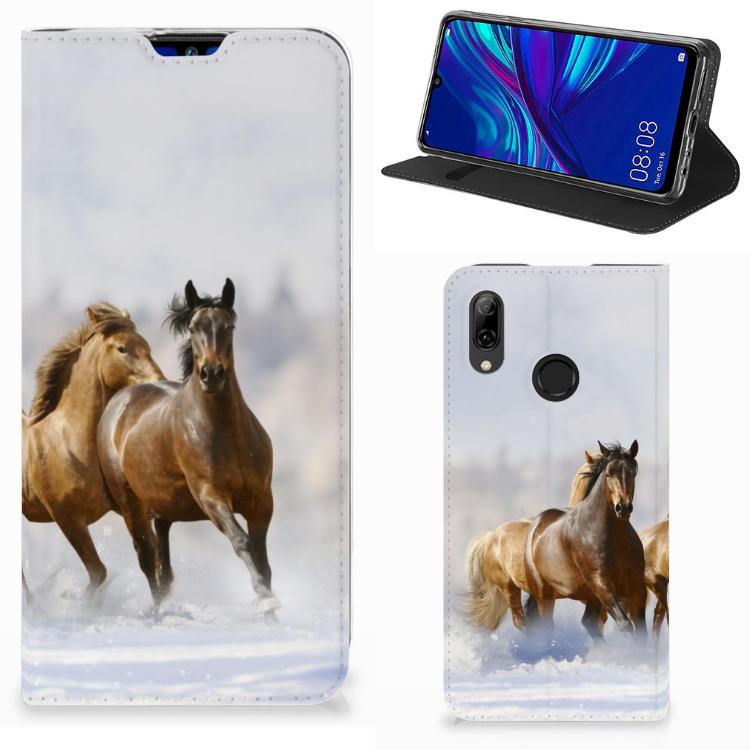 Huawei P Smart (2019) Hoesje maken Paarden