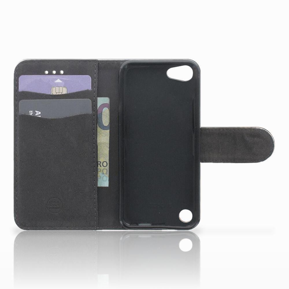 Apple iPod Touch 5 | 6 | iPod (2019) Telefoonhoesje met Pasjes Luipaard