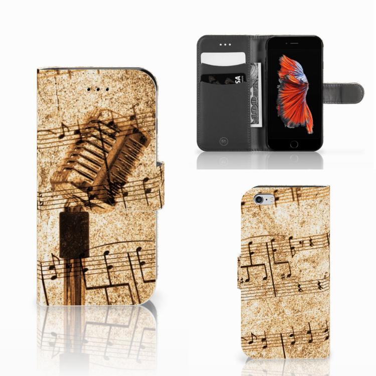 Apple iPhone 6 | 6s Telefoonhoesje met foto Bladmuziek