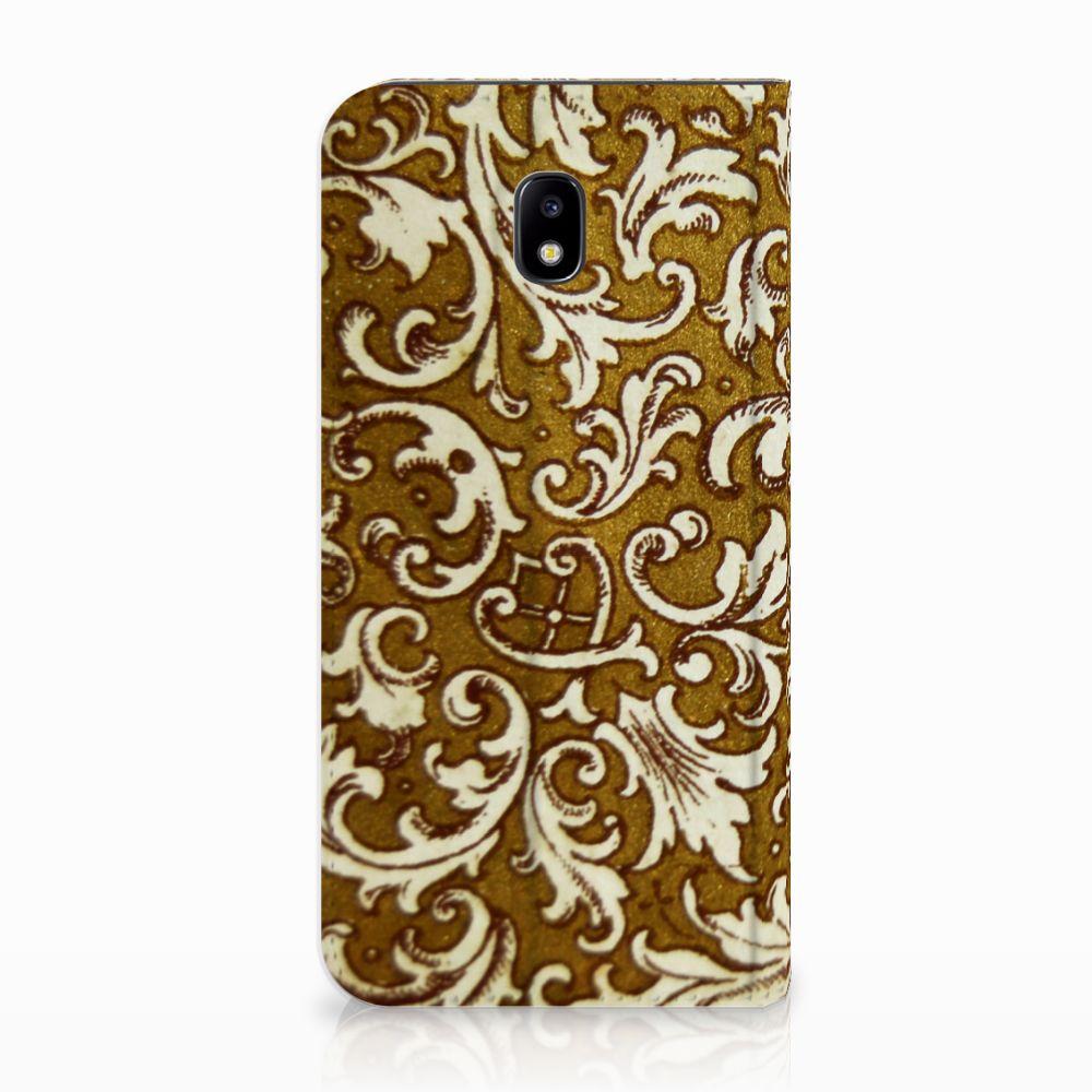 Telefoon Hoesje Samsung Galaxy J5 2017 Barok Goud