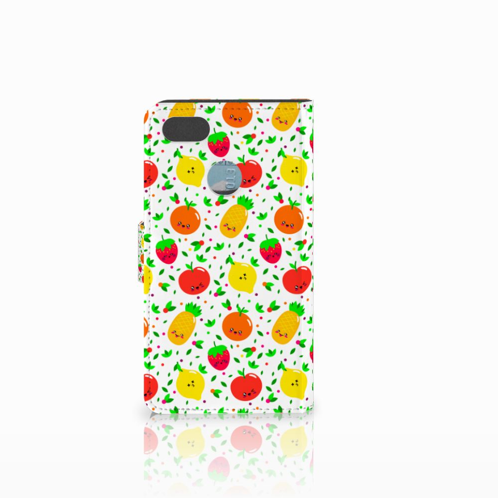 Huawei Y6 Pro 2017 Book Cover Fruits