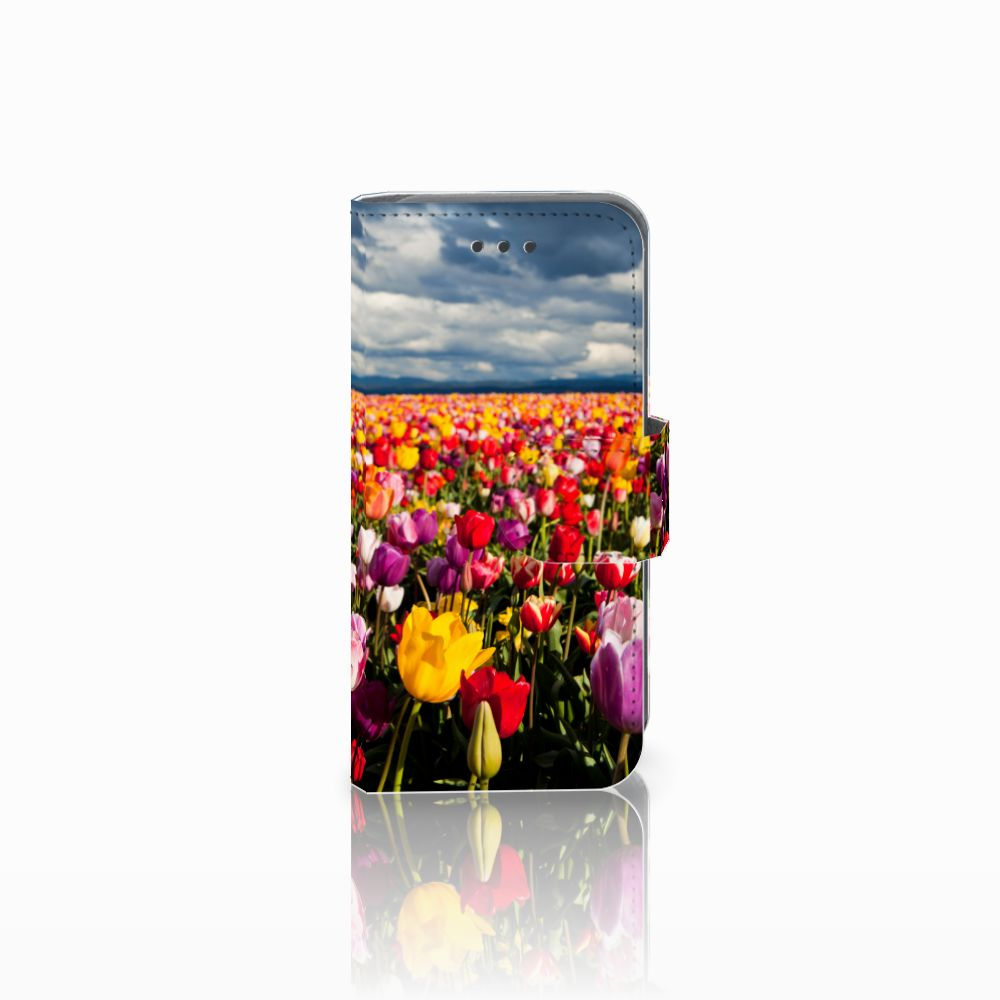 Apple iPod Touch 5 | 6 Uniek Boekhoesje Tulpen